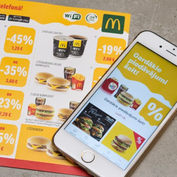 McDonalds aplikacija